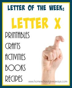 """Resources for Teaching the Letter """"X"""" Teaching the Letter X might seem like a scary feat. Check out these resources to make it EASY & FUN! Letter Sound Activities, Handwriting Activities, Preschool Letters, Preschool Curriculum, Preschool Lessons, Book Activities, Preschool Activities, Alphabet Activities, Kindergarten Handwriting"""