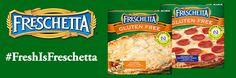 #FreshIsFreschetta Twitter Party – Tuesday, August 30th! New gluten free products!