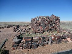 Agate House in Petrified Forest National Park