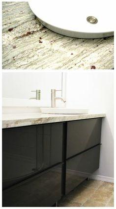 wooden ikea bathroom vanities | IKEA godmorgon hack, wooden | Crafty | Pinterest ...