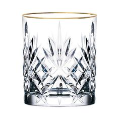 Lorren Home Trends Siena Crystal Double Old Fashioned Glass