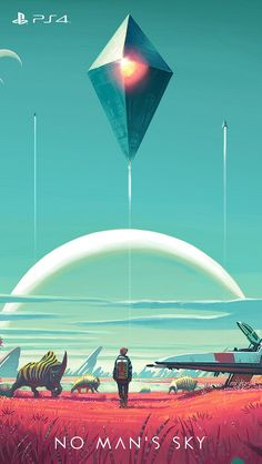 Video game / no man's sky mobile wallpaper Fantasy Landscape, Fantasy Art, Video Game Art, Video Games, 1440x2560 Wallpaper, Computer Wallpaper, Amoled Wallpapers, Desktop Wallpapers, No Man's Sky