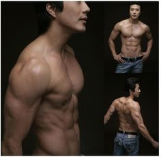 """Kwon Sang-woo / korean star, k-pop /   the most visible example of the so-called """"mom-zzang"""" (slang for """"great body"""") movement, started his career as a fashion model in the late 1990s."""