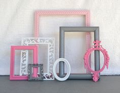 This would be a great DIY project for baby girl's nursery.