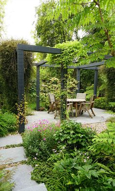 Pergola Ideas Pergola Ideas Ideas Ideas australia Ideas backyard Ideas covered Ideas diy Ideas front porch Ideas modern Ideas on a budget Fenton Roberts Garden Design, North London Garden Designer, Back Gardens, Small Gardens, Outdoor Gardens, Small Courtyard Gardens, Steep Gardens, Unique Garden, Small Garden Design, Urban Garden Design, Small Garden With Patio Ideas