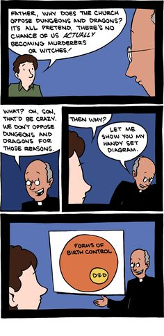 #church VS #dnd
