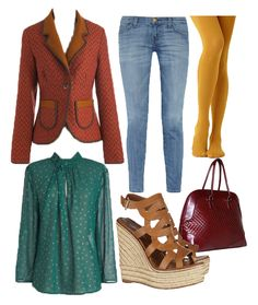 So. California fall fashion. It's never really cold here in so cal, but this is something I'd wear in the fall/winter.