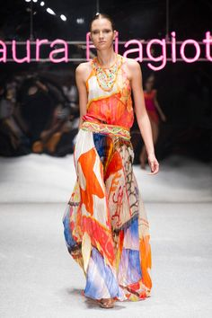 Laura Biagiotti at Milan Fashion Week Spring 2013 - Runway Photos