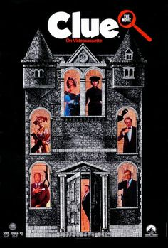 Clue (1985) DVD - Six guests are invited to a strange house and must cooperate with the staff to solve a murder mystery. Complete with three different endings.