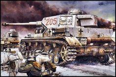 German WWII tank
