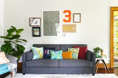 """A Master Bedroom Turned """"Colorful and Eclectic"""" Living Space — Makeover"""