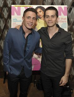 Dylan O'Brien and Colton Haynes Photo - NYLON Magazine And Tommy Girl Celebrate The Annual May Young Hollywood Issue - Dinner