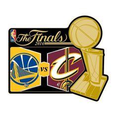 2016 NBA Finals Match Up Pin - Warriors vs. Cavaliers