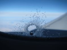 Hole in the window? The little one, near the bottom, that you perhaps only notice when a hollowed-out snowflake of frost forms near it. This tiny hole is called a breather hole or a bleed hole, and it serves an important safety function.