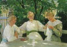Nordic Thoughts: Michael Peter Ancher (Danish, 1849-1927)