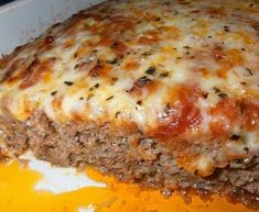 The Pioneer Woman: ITALIAN MEATLOAF