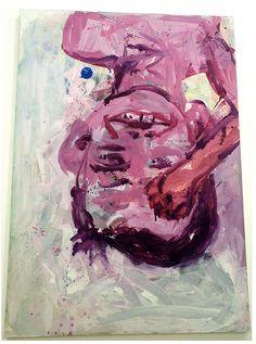 Georg Baselitz Portrait, Painting, Art