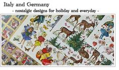 decorative german papers