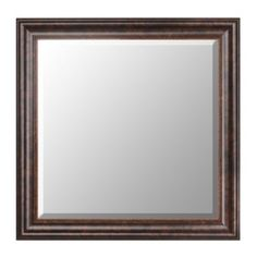 Bronze Framed Mirror, 30x30   Kirklands