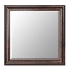 Bronze Framed Mirror, 30x30 | Kirklands