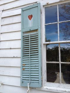 Terrific old shutters still decorate the exterior of The sweetheart teahouse in Shelburne Falls MA