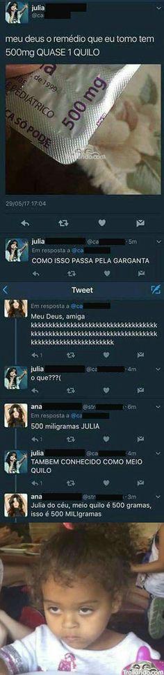 Julia do céu!
