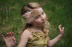 diadema de plumas rosa diadema de oro cualquier por lexicouture