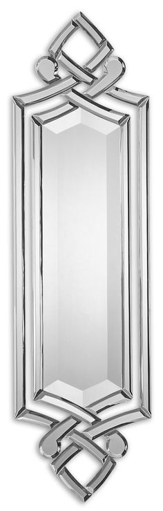 Hand Beveled Mirrors With A Matte Black Back. May Be Hung Either Horizontal Or Vertical.