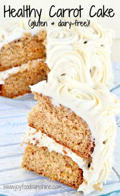 A carrot cake recipe that is gluten and dairy-free! Using applesauce and…