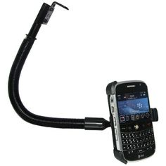 Amzer AMZ92948 18Inch Aluminum Gooseneck Floor Mount BlackBerry Bold  Mount  Retail Packaging  Black *** Learn more by visiting the image link.