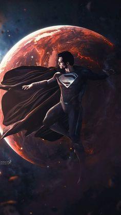 Black Superman iPhone Wallpaper - iPhone Wallpapers
