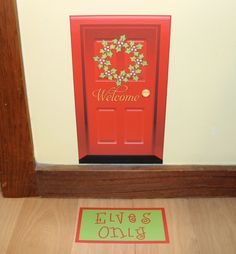 Elf on a Shelf : Elf Door
