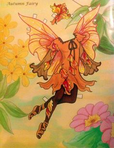 Fairy Paper Doll By Eileen Rudisill Miller: Autumn Fairy