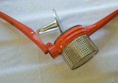 Vintage Kitchen Tool Potato Ricer by MadVarietyShow on Etsy, $28.00