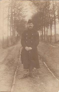 """foto van onbekende """"Belgische"""" soldaat - foto 017-017 beschikbaar gesteld door de familie Haantjes"""