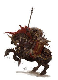 ArtStation - chaos knight, NI Yipeng