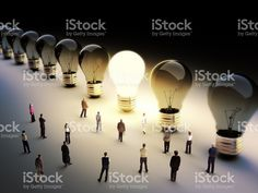 Leading the pack, ingenuity,standing out from the crowd concept. royalty-free stock photo