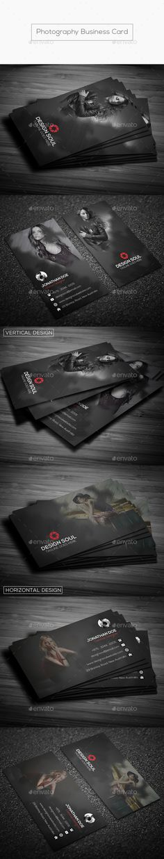Photography Business Card — Photoshop PSD #picture #photographer • Available here → https://graphicriver.net/item/photography-business-card/17664344?ref=pxcr