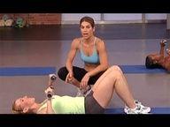 7 min Jillian Michaels: No More Trouble Zones Workout- Circuit 2