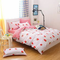 215 Best Strawberry Bedroom Images In 2019 Strawberry