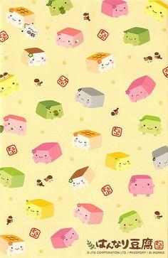 Hannari Tofu Letter Set