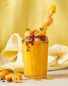 Milkshake, Cantaloupe, Smoothie, Mango, Fruit, Food, Manga, Essen, Smoothies