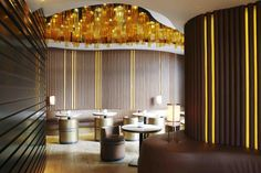 BeefBar in Montre Carlo specialising in meat. Recently refurbished interior is by Monaco-based Humbert & Poyet Agency.