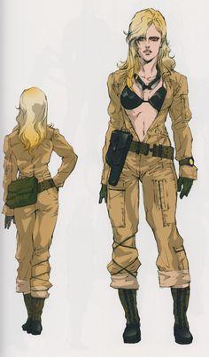 [spoilers] | f-d-draws: MGS3 waifus Yoji Shinkawa is pretty...
