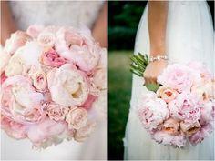 Inspiratie voor als je gaat trouwen: pioenrozen- De Meisjes Van De Bloemen