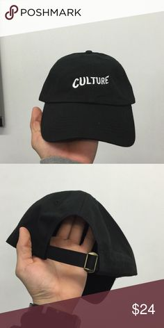 MIGOS CULTURE dad hat Brand new item . Embroidered Accessories Hats