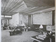 Lloyd Lewis House - Frank Lloyd Wright - 1939