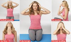 How just eight  yoga stretches can make you glow