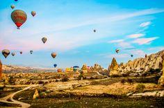 Cappadocia by hot air balloon
