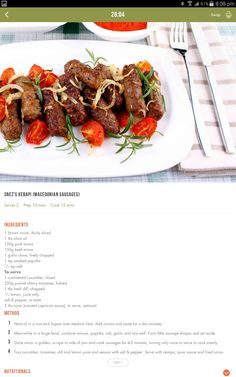 Healthy Meals, Healthy Food, Healthy Eating, Healthy Recipes, Good Food, Yummy Food, Tasty, Clean Eating Recipes, Diet Recipes